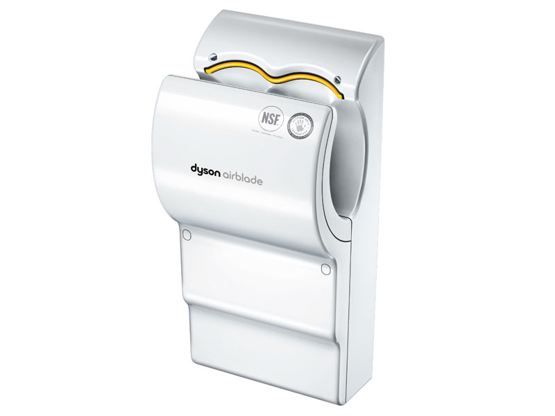 buy poly carbonate dyson airblade hand dryer white free. Black Bedroom Furniture Sets. Home Design Ideas