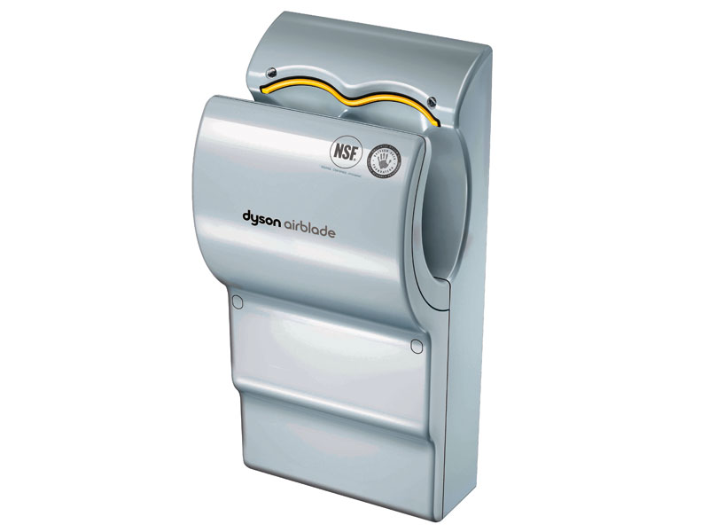 buy poly carbonate dyson airblade hand dryer grey free. Black Bedroom Furniture Sets. Home Design Ideas
