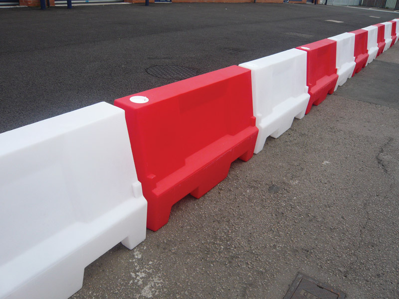 Buy water or sand filled barrier free delivery